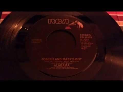 Joseph & Mary's Boy - Alabama - 45 Record