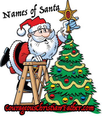 Over 15 Names of Santa Claus Across the World #SantaClaus #Christmas #Santa