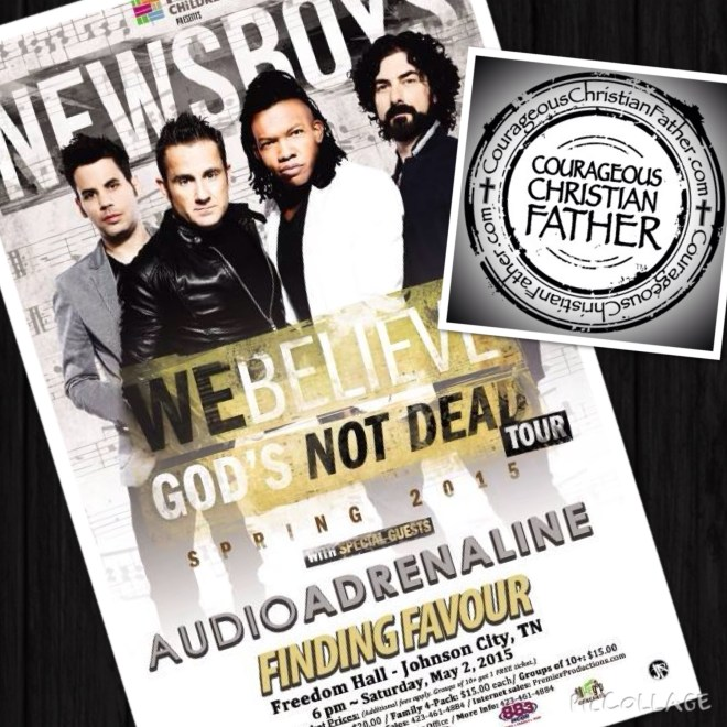 Newsboys We Believe God's Not Dead Tour - Johnson City, TN