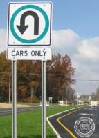 U-Turn Sign