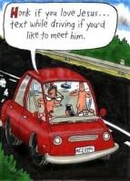 Honk & Texting Comic