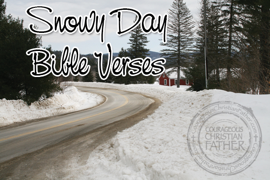Snowy Day Bible Verses