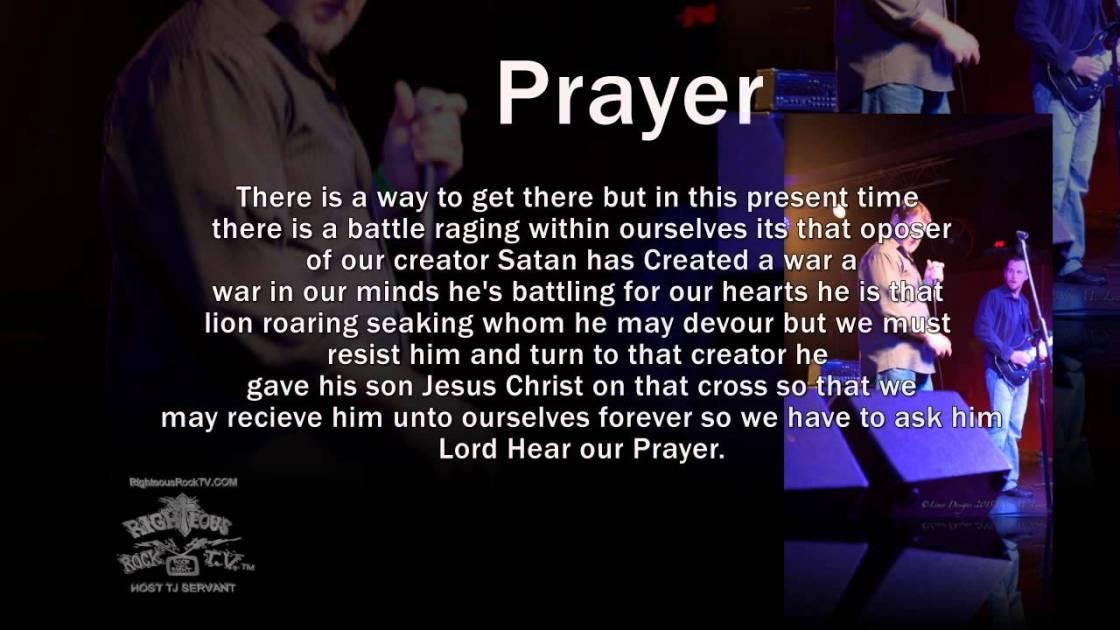 Saving Darkness - Prayer - Righteous Rock T.V.