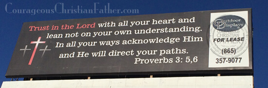 Trust in the Lord (billboard)