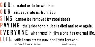 Gospel Acronym (Dare2Share)