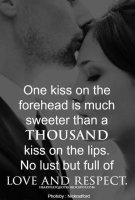 One Kiss on the Forehead
