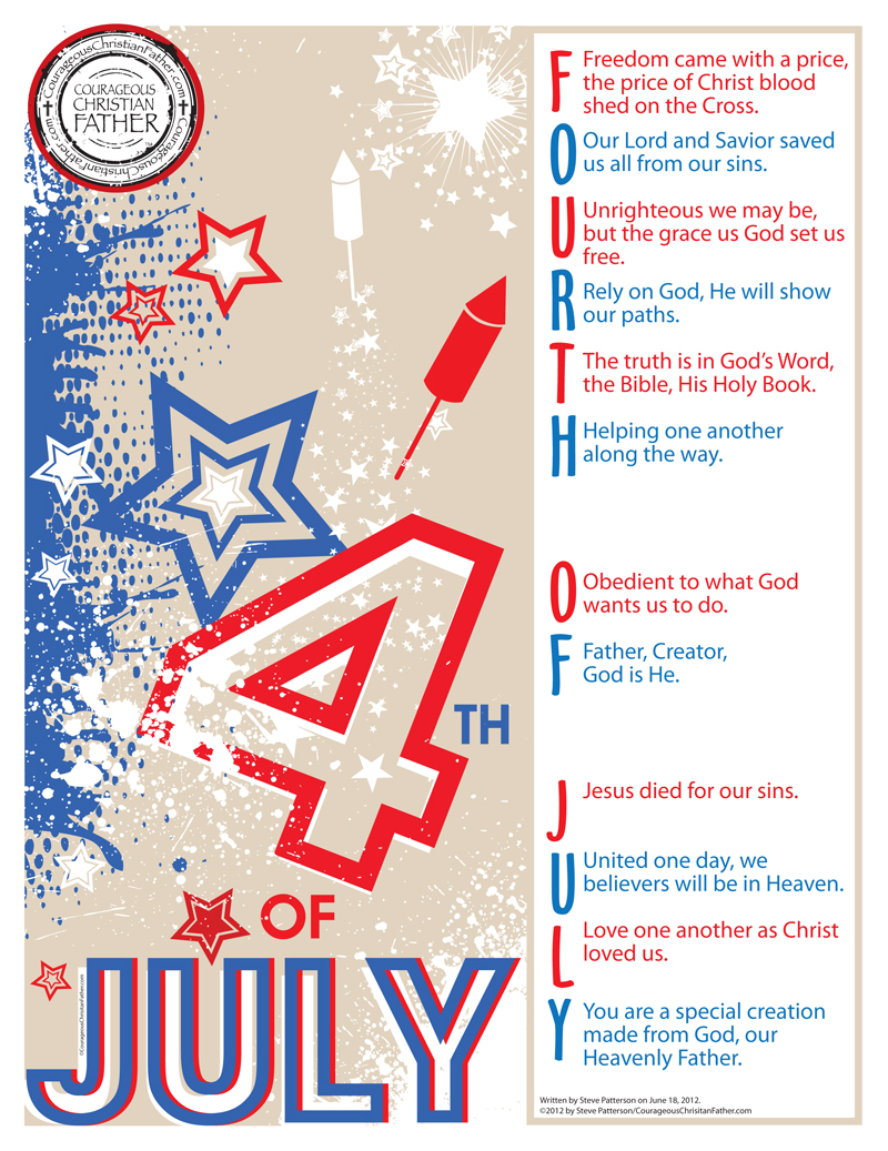 Fourth of July Poem/Acronym