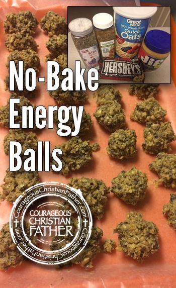No-Bake Energy Balls, Recipe