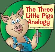 Three Little Pigs Analogy