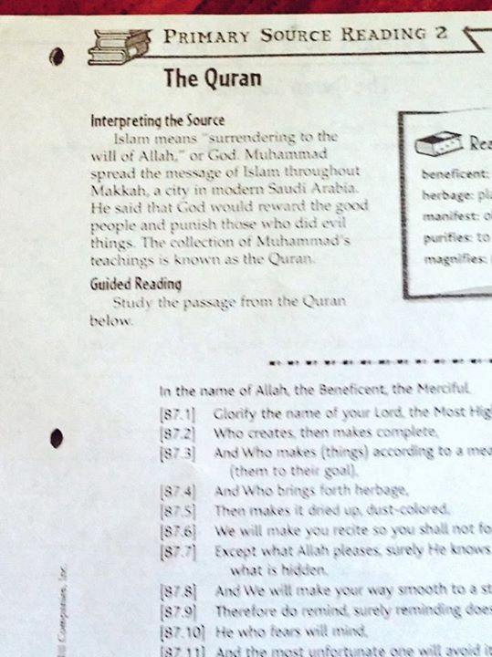 The Quran Homework image