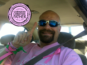 Steve Best Dressed in Pink 2012 - Pink Ribbon