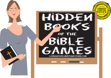 Hidden Books of the Bible Games Free Printables