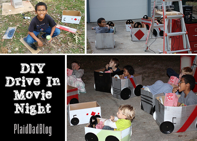 DIY Drive-In Movie Night | PaidDadBlog