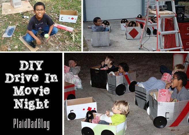 DIY Drive-In Movie Night   PaidDadBlog