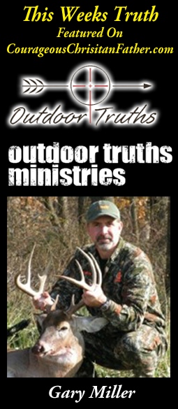 Giving Up? Perfect is not an option! Is this weeks Outdoor Truth with Gary Miller.