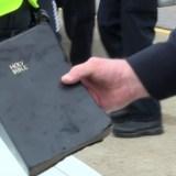 Bible Survived Fiery Car Crash