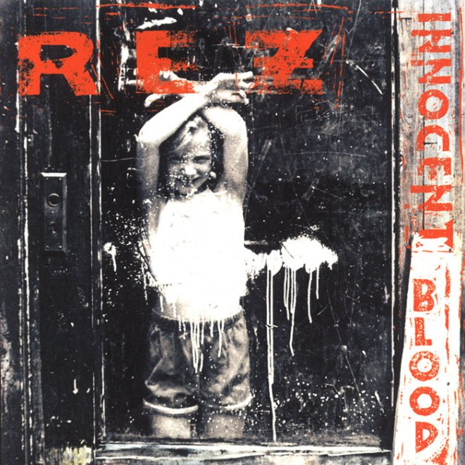 Rez Band Innocent Blood CD Cover - Great God in Heaven