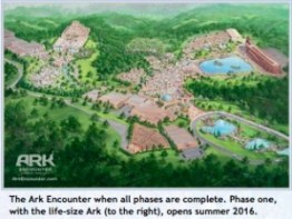 Ark Encounter Plot area area view