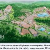 Ark Encounter Plot area area view