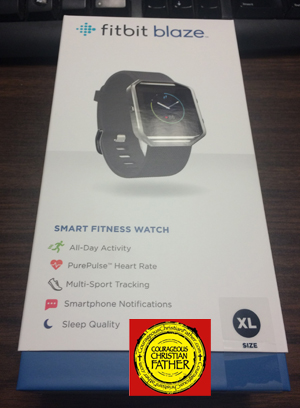 fitbit blaze box (packing)