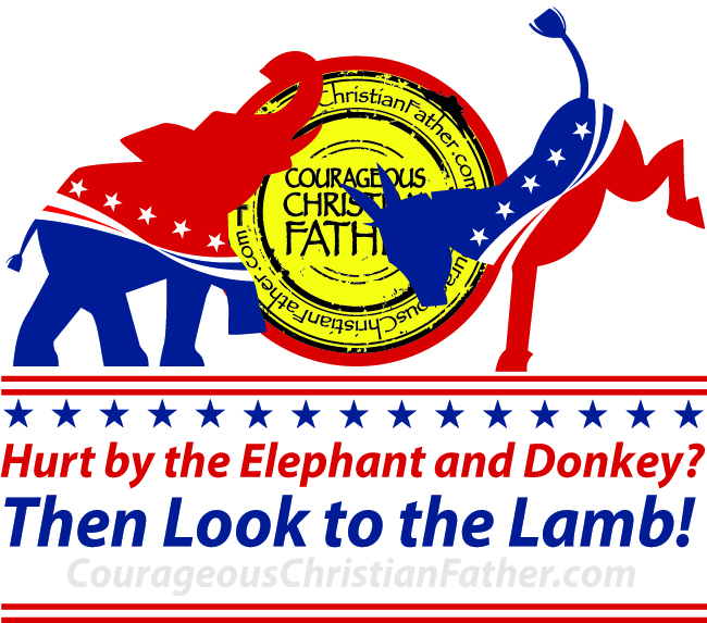 Hurt by the Elephant and Donkey? Then Look to the Lamb!