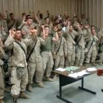 """I love to share videos of our military singing gospel and Christian Music. Just like these Marines singing """"Lord I Lift Your Name On High."""""""