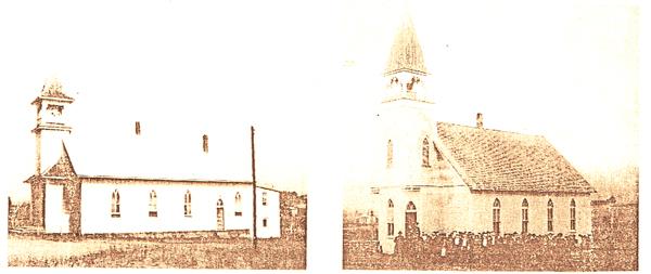 Piedmont Baptist Church old buildings