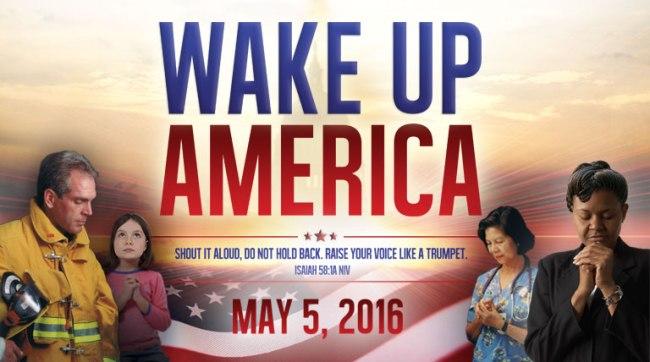 Wake Up America - National Day of Prayer