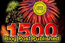 1500 Blog Post Published