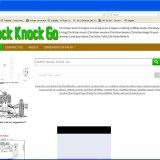 Knock Knock Go Search Engine