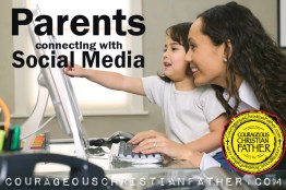 Parents connecting with Social Media