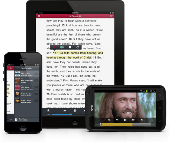 Audio Scripture - Faith Comes From Hearing App