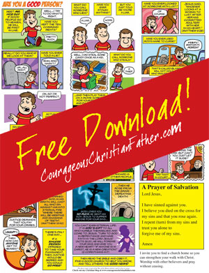 Good Person Comic Full Page Download and Printable