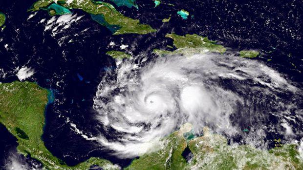 actually satellite hurricane Matthew