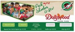 Dollywood and Operation Christmas Child Shoebox Challenge