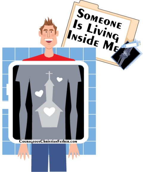 Someone Is Living Inside Me - Wait! I am not losing it! There truly is someone living inside of me and that same person is living inside of you if are a Child of God.
