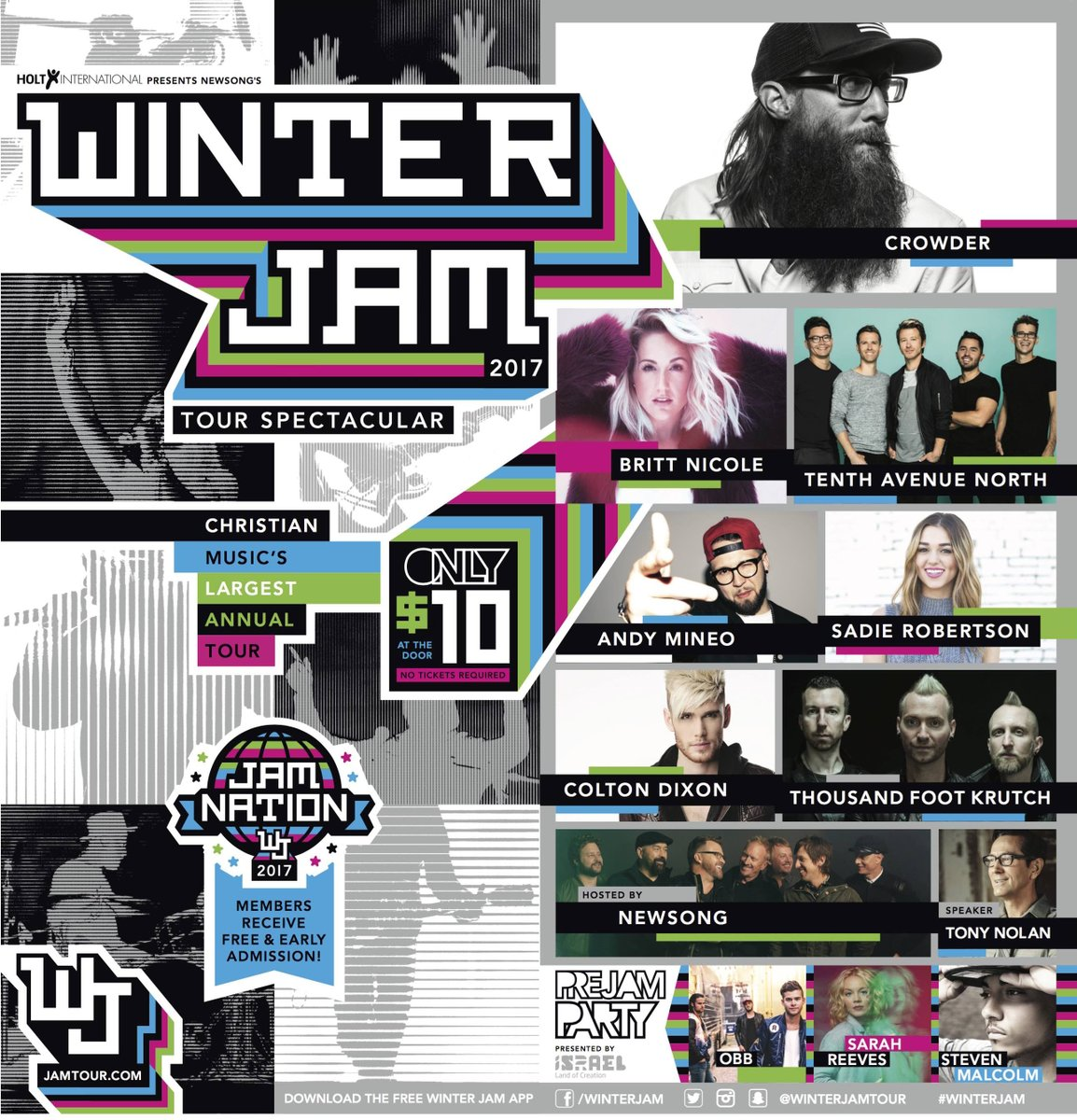 Winter Jam 2017 East Coast Tour Announced