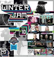 Winter Jam 2017 Poster #WinterJam