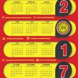 2017 Calendar, Printable