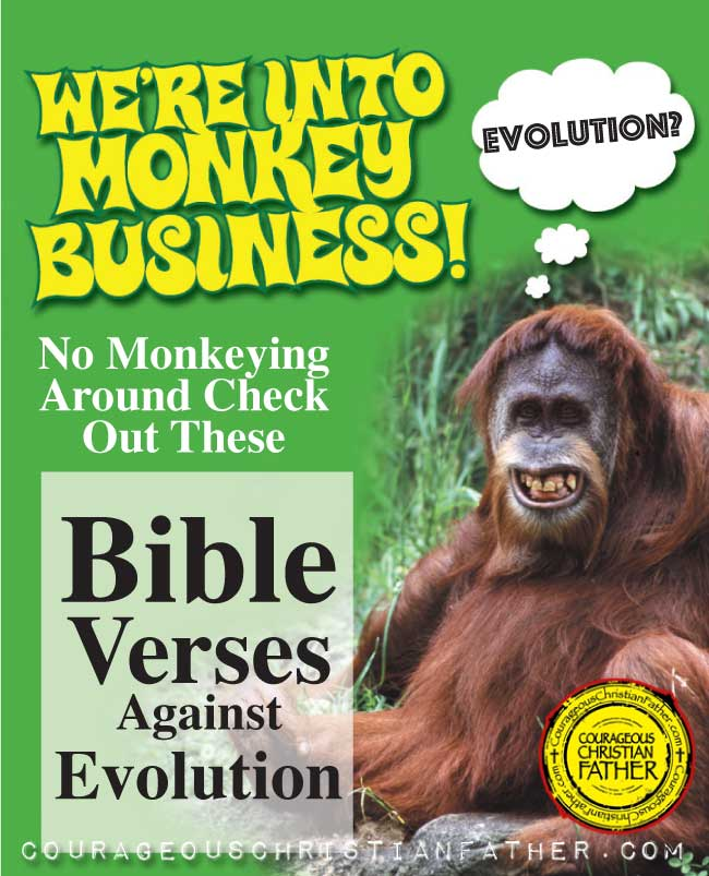Bible Verses Against Evolution