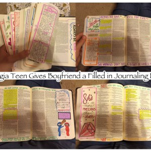 Georgia Teen BF Journaling Bible Christmas