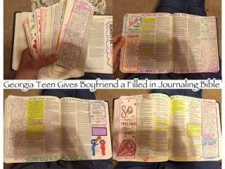 Georgia Teen BF Journaling Bible Christmas