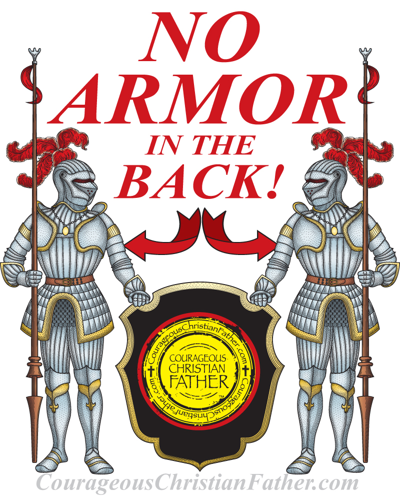 No Armor in the Back in the Armor of God