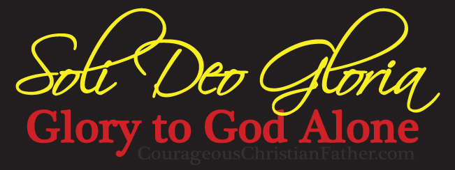 Soli Deo Gloria (Glory to God Alone)