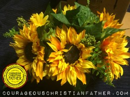 Sunflower - Interior Landscape - Artificial Floral Arrangement