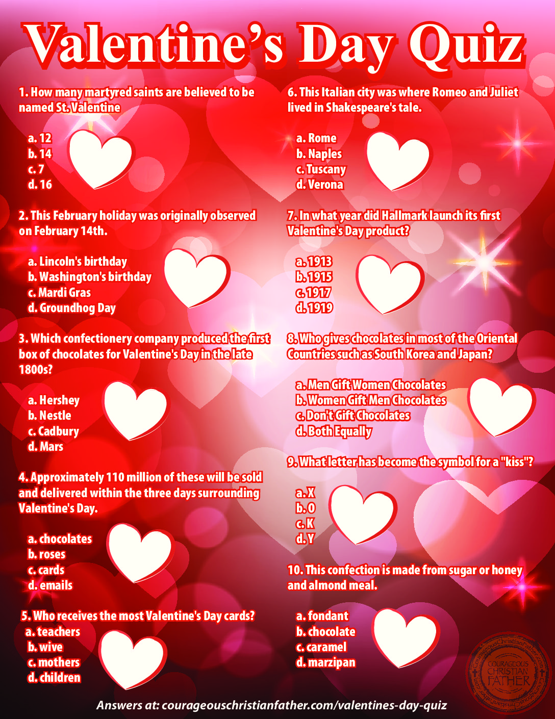 Valentine S Day Quiz