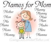 Names for Mom Printable