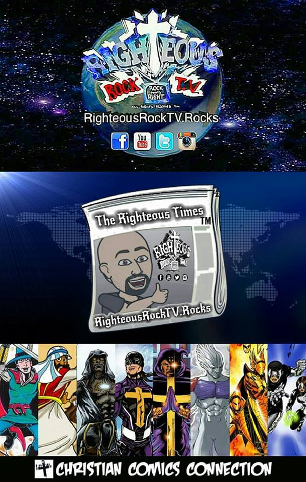 Righteous Rock TV - The Righteous Times - Christian Comic Connection