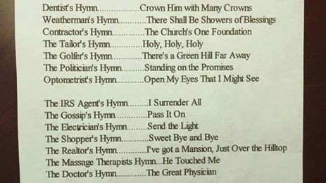 Occupational Hymns
