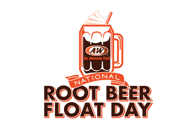 A&W Naitonal Root Beer Flaot Day #RootBeerFloatDay